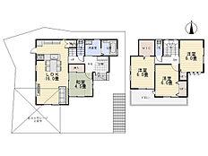 建物プラン例:建物価格1529万円、建物面積92.57平米