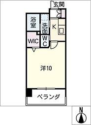 仮)則武二丁目マンション[9階]の間取り