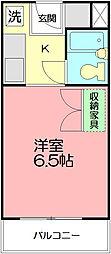 神奈川県藤沢市本町4丁目の賃貸マンションの間取り