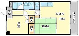 ヴィラプリマベーラ[3階]の間取り
