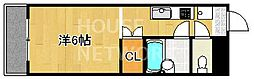 メゾンハウスII[403号室号室]の間取り
