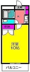 フローラ[103号室]の間取り