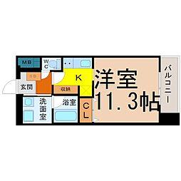 TOURNEY名駅(ターニー名駅)[305号室]の間取り