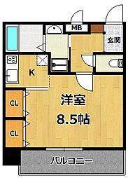 仮称)LOCUS1 南武庫之荘1丁目新築[301号室]の間取り