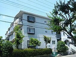 東京都日野市平山4丁目の賃貸マンションの外観