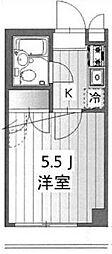 メイプルガーデン溝の口[3階]の間取り