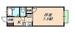 カスカータ垂水[1階]の間取り