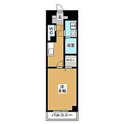 プランドールM[5階]の間取り