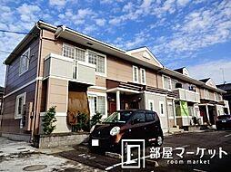 愛知県豊田市岩倉町馬場の賃貸アパートの外観
