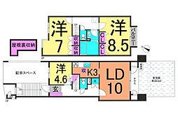 ホームタウン初石18号棟 中古マンション