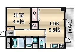 ドイマンション[5階]の間取り