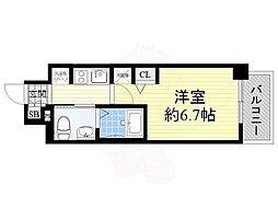 大国町駅 5.5万円