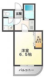 カルム香川II[1階]の間取り