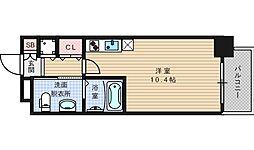 アーデン土佐堀[12階]の間取り
