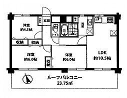 ライオンズマンション鳩ケ谷 学区/中居小・八幡木中