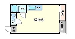 奥村第五ハイツ[3階]の間取り