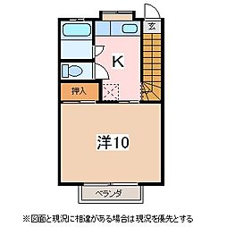 稼ぐ家姫17号[2階]の間取り
