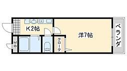 ケ セラ セラ[202号室]の間取り