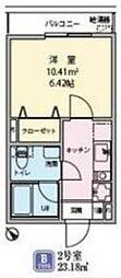 ルクール上板橋[1階]の間取り