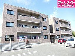 愛知県日進市浅田町上納の賃貸マンションの外観
