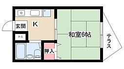 メゾン三緑[101号室]の間取り