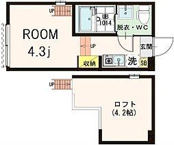 (仮称)北区浮間2丁目コーポ[1階]の間取り