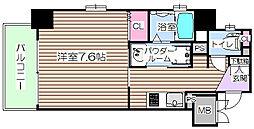 プリエ梅田[5階]の間取り