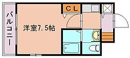 セントレジデンス博多[5階]の間取り