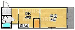 ディム33[403号室号室]の間取り