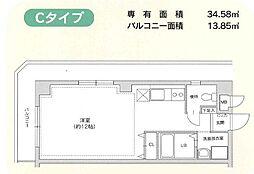 ネズバン桜坂[2階]の間取り