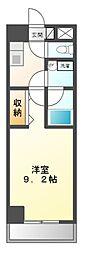 愛知県豊田市上野町4丁目の賃貸マンションの間取り