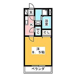 Bellku‐U[-2階]の間取り