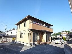 兵庫県たつの市揖西町南山の賃貸アパートの外観