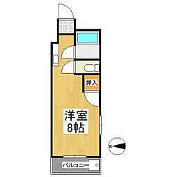 コーポラスK[3階]の間取り