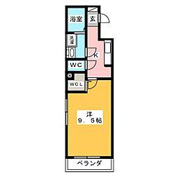 ルナリア[2階]の間取り