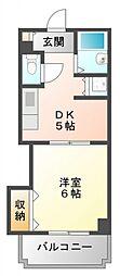 サンクリエイト江坂[7階]の間取り
