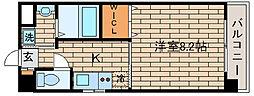 兵庫県神戸市須磨区大田町1丁目の賃貸マンションの間取り