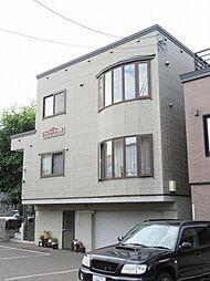 北海道札幌市東区北二十二条東13丁目の賃貸アパートの外観