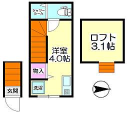 西新井大師西駅 4.4万円