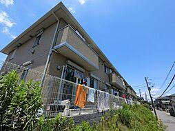 千葉県千葉市稲毛区萩台町の賃貸アパートの外観