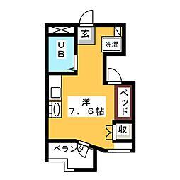 戸田ビル[3階]の間取り