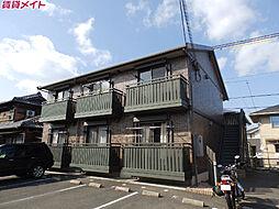 近鉄鈴鹿線 平田町駅 徒歩27分の賃貸アパート