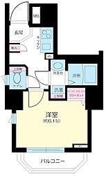 ガーラ芝御成門[13階]の間取り