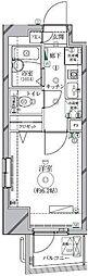 リクレイシア西麻布II番館[8階]の間取り
