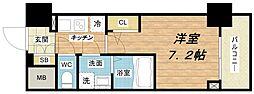 プランドール新大阪PARKレジデンス[6階]の間取り