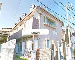 神奈川県横浜市金沢区六浦3丁目の賃貸アパートの外観