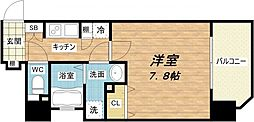 エイペックス大阪城西[2階]の間取り