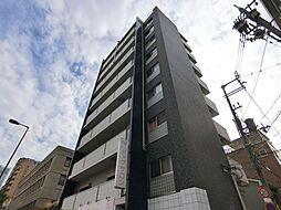 大阪府大阪市天王寺区伶人町の賃貸マンションの外観