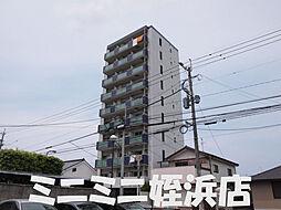 福岡県福岡市西区姪の浜3丁目の賃貸マンションの外観