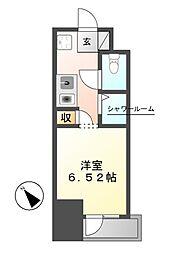 NS ZEAL東別院[11階]の間取り